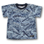 SIZE 6 Handmade Planes Print T-Shirt