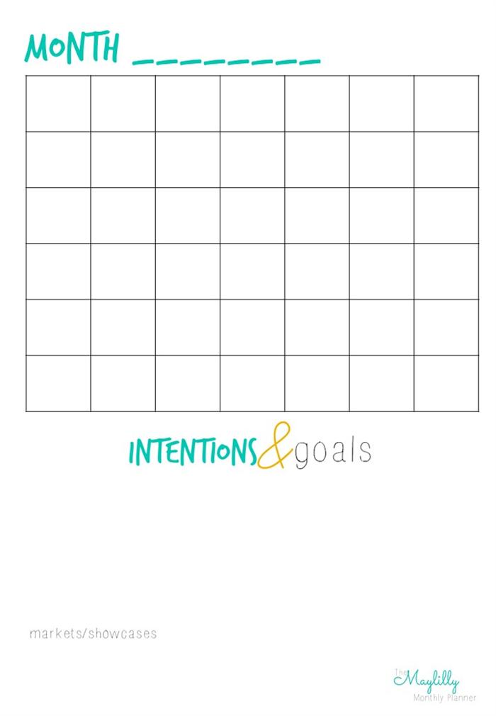 April Calendar List : Monthly planner calendar to do list your creative