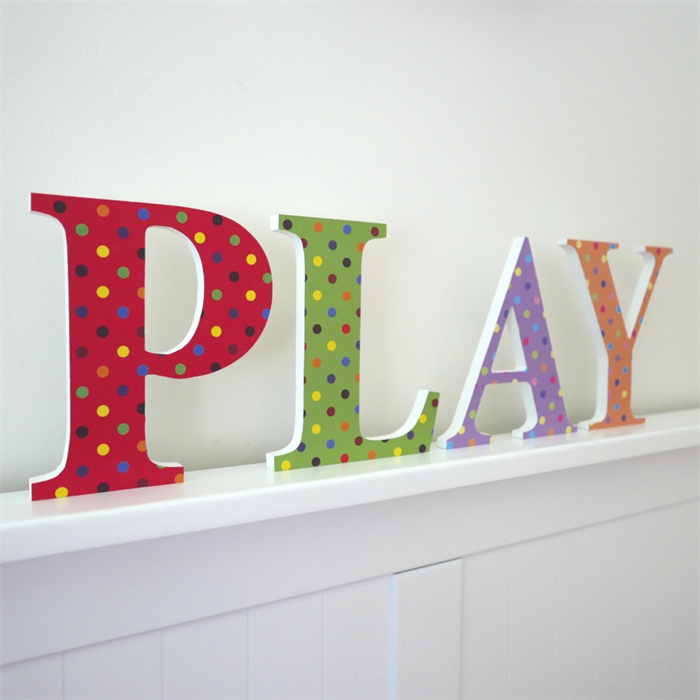 Wall or door letters 17cm 4 letters it 39 s my room for Small dirty room 7 letters