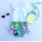 Stunning Emerald Floral Bloomers Shorties Nappy Cover