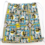 Library Bag / Swimming Bag / Kids backpack / Kids sleepover bag / Drawstring Bag