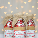Happy Valentines Day Cookie Mix - Large (Makes 12 cookies)