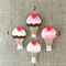 Ice-cream felt hair clip, summer, yummy, accessory for a girl