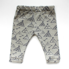 Tee Pee baby leggings