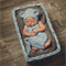 Mohair Overalls and Baby Bear Bonnet Set / Newborn Photography