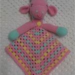 Security Blanket, Lovey, Giraffe, Baby Girl Gift, Baby Gift, Baby Shower Gift
