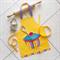 Kids/Toddlers Apron Cupcake - lined kitchen/craft/play apron -  cupcake pocket