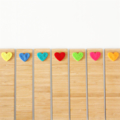 Bamboo Bookmark Choose Your Own wood heart Birthday Valentine Love Christmas