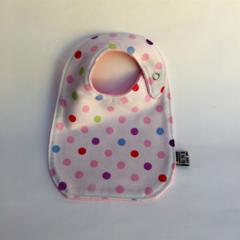 Bib -Pink Spot