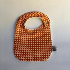 Bib -Orange Geometric