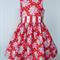 Party Dress, Fleur, sizes 5 to 7/8