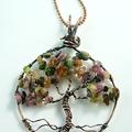 Handmade Wire Work Tree of Life Pendant