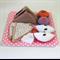 Felt Play Food Set, Sandwiches, Cupcakes, Fairy Bread, Apples