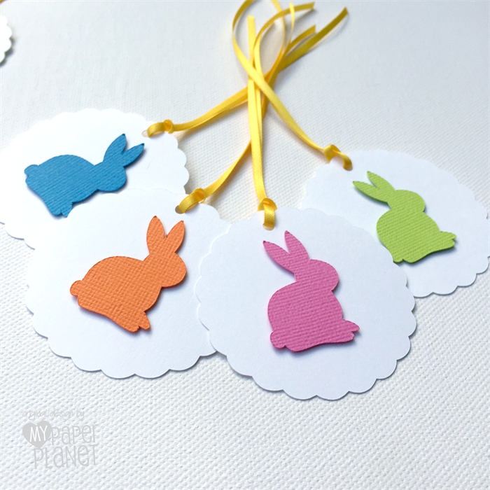 Bright bunny rabbit gift tags pink blue green orange easter bright bunny rabbit gift tags pink blue green orange easter gifts baby shower negle Gallery