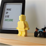 EVERYDAY IS AWESOME - Lego man inspired shelfie