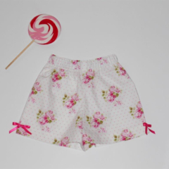 "Size 2 - ""Sunshine Roses""Shorts"