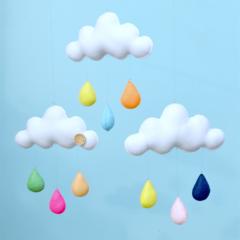 "Cloud trio mobile ""multicolour"""