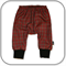 SIZE 0 Unisex Red Tartan Check Harem Pants