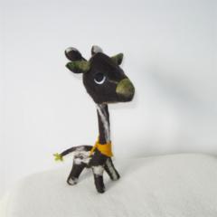 Giraffe Wool Felt Toy Stuffed Animal