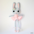 Custom Listing for Kat Ballerina Bunny