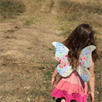 Appliqued Butterfly Fairy Wings ...