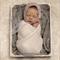Newborn Lace Bonnet / Newborn Photography Prop / Pink Stretch Lace