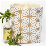 "Reversible Fabric Bucket - ""Gold Wire Look"" (60cm circum)"