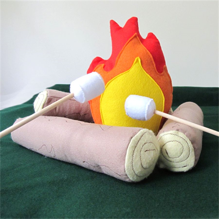 Large Campfire Set with Marshmallows