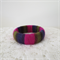 Funky Wooden Bangle Covered with Quality Yarns