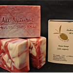 Rose Soap, 130g x 3 bars