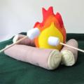 Campfire Set, Felt Toy