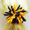 Large 'Curlz' School Hair Clip - Custom Made in school colors