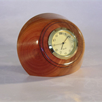 Bloodwood Timber Clock