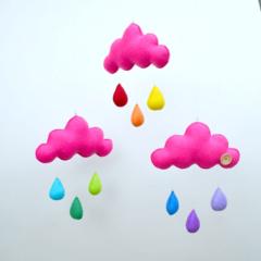 """Cloud trio mobile """"Bright"""""""