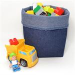"Reversible Fabric Bucket - ""Denim"" (60cm cirumference)"