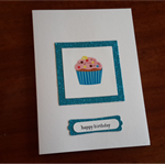 Fun Cupcake Childrens Birthday Card.