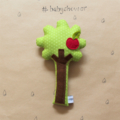 Apple Tree Rattle - Baby rattle
