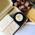 Men's Gift Set: Natural Skincare. 2 x Soap, Beard Balm & Soap Dish. No Palm Oil