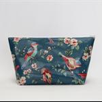 Waterproof makeup bag purse toiletries oilcloth pencil case cosmetics pouch