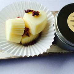 Body Butter Massage Bars. Rose Hearts 3 In A Tin. Luxe All Over Body Moisturizer