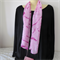 Hand Painted Silk Scarf - Hot Pink