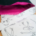 Kids Colour Me In Messenger Bag
