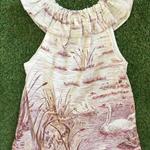 Vintage Swan Dress