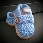 Blue Malachi Slipper 3-6 months old Size
