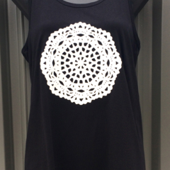 Ladies Doily Singlet