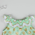 Size 0 - Mint Green Frills Playsuit