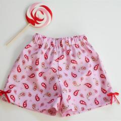 "Size 2 - ""Love Hearts"" Shorts"