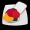 FELT FOOD SALAD SANDWICH  LETTUCE  CHEESE BEETROOT TOMATO