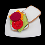 FELT FOOD SALAD SANDWICH 