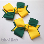 Twisted School Hair Ties -  Custom Made in school colors
